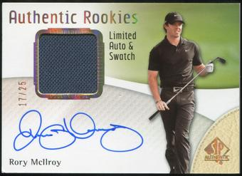 2014 Upper Deck SP Authentic Limited Autographs #100 Rory McIlroy Shirt 17/25