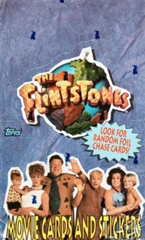 Flintstones The Movie Hobby Box (1993 Topps)