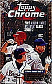 2002 Topps Chrome Series 2 Baseball Hobby Box