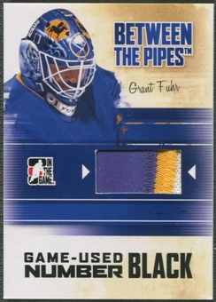 2010/11 Between The Pipes #M71 Grant Fuhr Game Used Black Number /6
