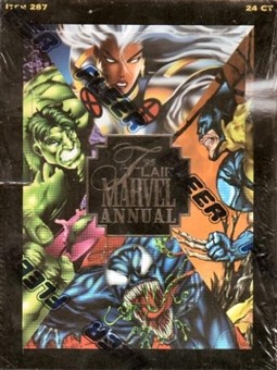 Marvel Annual Hobby Box (1995 Flair)