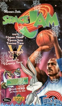 Space Jam Series 2 Hobby Box (1997 Upper Deck)