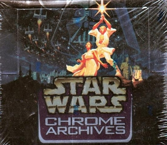 Star Wars Chrome Archives Hobby Box (1999 Topps)