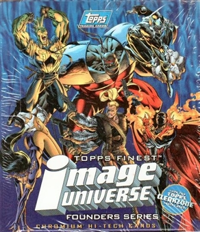 Image Universe Hobby Box (1995 Topps Finest)