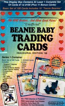 Beanie Baby Trading Cards Hobby Box (1998 West Highland)