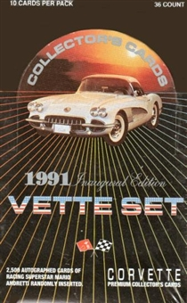Vette Set Hobby Box (1991 Collect-A-Card)