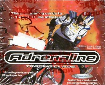 Adrenaline Hobby Box (2000 Fleer)