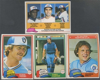 1981 O-Pee-Chee Baseball Complete Set (NM-MT)