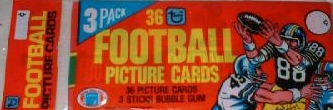1980 Topps Football Grocery Rack Pack