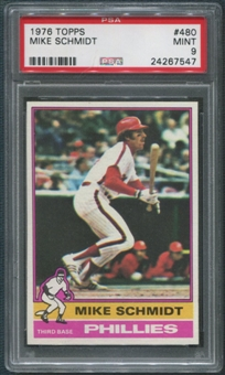 1976 Topps Baseball #480 Mike Schmidt PSA 9 (MINT)