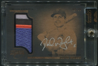 2014 Topps Dynasty #APDW2 David Wright Patch Auto #02/10