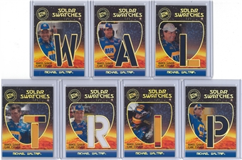 2009 Press Pass Eclipse Solar Swatches Holofoil Michael Waltrip 7 Card 1/1 Car Cover Set