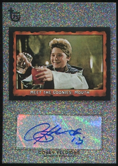 2013 Topps 75th Anniversary Autographs Diamond Sparkle #5 Corey Feldman 20/75