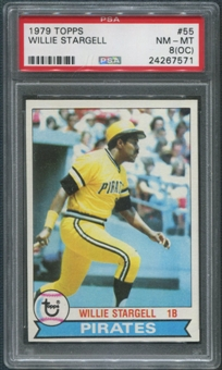 1979 Topps Baseball #55 Willie Stargell PSA 8 (NM-MT) (OC)