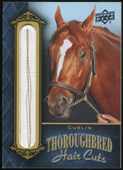 2011 Upper Deck Goodwin Champions Thoroughbred Hair Cuts #CUR Curlin