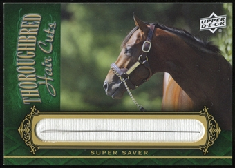 2011 Upper Deck Goodwin Champions Thoroughbred Hair Cuts #SUP Super Saver Horizontal