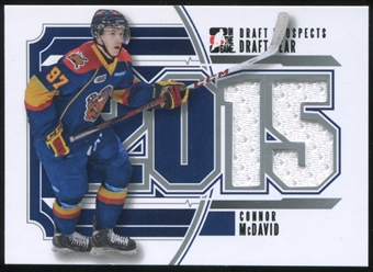 2012/13 In The Game ITG Draft Prospects Draft Year Jerseys #DY01 Connor McDavid
