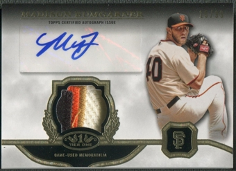 2013 Topps Tier One #MB Madison Bumgarner Patch Auto #15/99