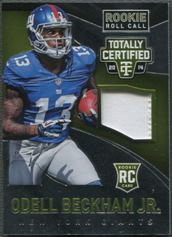 2014 Totally Certified #RRCOB Odell Beckham Jr. Rookie Roll Call Patch #17/25