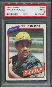 1980 Topps Baseball #610 Willie Stargell PSA 9 (MINT)