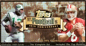 1996 Topps Football Factory Set (Box)