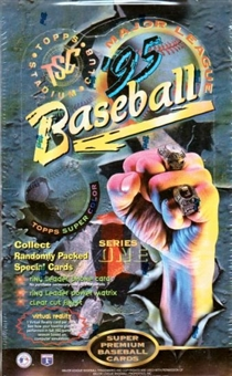 1995 Topps Stadium Club Series 1 Baseball 24 Count Box