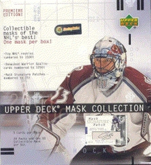 2001/02 Upper Deck Mask Collection Hockey Hobby Box