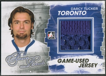 2012/13 ITG Forever Rivals #M23 Darcy Tucker Gold Game Used Jersey /10