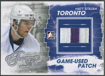 2012/13 ITG Forever Rivals #M20 Matt Stajan Game Used Patch /6