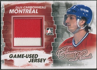 2012/13 ITG Forever Rivals #M27 Guy Carbonneau Game Used Jersey /10