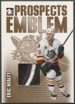 2004/05 ITG Heroes and Prospects #17 Eric Healey Rookie Gold Emblem /10