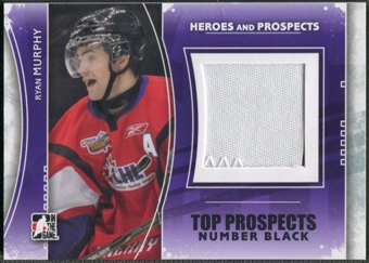 2011/12 ITG Heroes and Prospects #TPM13 Ryan Murphy Top Prospects Number Black /6