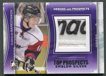2011/12 ITG Heroes and Prospects #TPM15 Vladislav Namestnikov Top Prospects Emblem Silver /3
