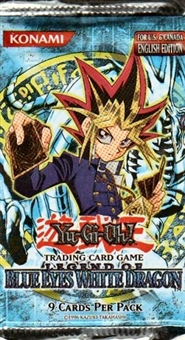 Upper Deck Yu-Gi-Oh Blue Eyes White Dragon Unlimited Booster Pack