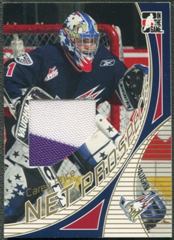 2006/07 ITG Heroes and Prospects #NPR09 Carey Price Net Prospects Gold Jersey /10
