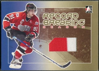 2006/07 ITG Heroes and Prospects #RS01 John Tavares Record Breaking Season Gold Jersey 1/1