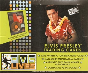 Elvis Lives Hobby Box (2006 Press Pass)