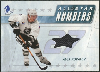 2003/04 BAP Memorabilia #ASN7 Alex Kovalev All-Star Numbers Jersey /20