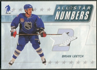 2003/04 BAP Memorabilia #ASN9 Brian Leetch All-Star Numbers Jersey /20