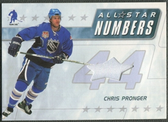 2003/04 BAP Memorabilia #ASN12 Chris Pronger All-Star Numbers Jersey /20
