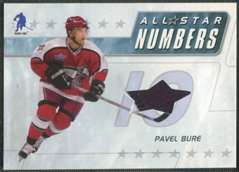 2003/04 BAP Memorabilia #ASN15 Pavel Bure All-Star Numbers Jersey /20