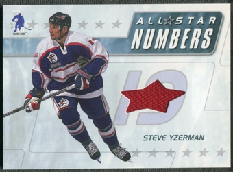 2003/04 BAP Memorabilia #ASN20 Steve Yzerman All-Star Numbers Jersey /20