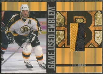 2001/02 BAP Signature Series #GUE4 Bill Guerin Emblem /10