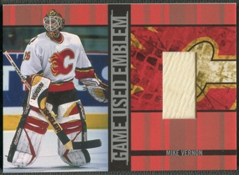 2001/02 BAP Signature Series #GUE9 Mike Vernon Emblem /10