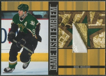 2001/02 BAP Signature Series #GUE19 Mike Modano Emblem /10
