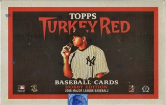 2006 Topps Turkey Red Baseball Hobby 24 Pack Lot