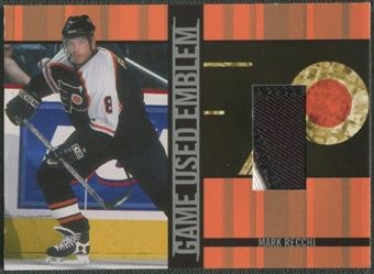2001/02 BAP Signature Series #GUE47 Mark Recchi Emblem /10
