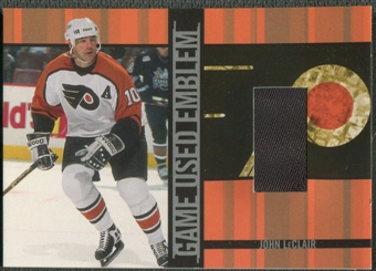 2001/02 BAP Signature Series #GUE48 John LeClair Emblem /10
