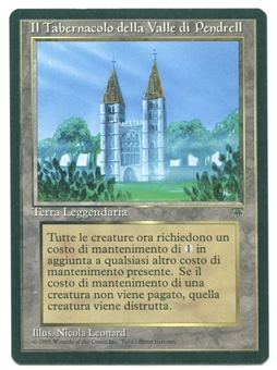 Magic the Gathering Legends Single The Tabernacle at Pendrell Vale ITALIAN - SLIGHT PLAY