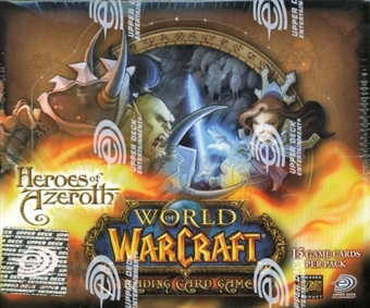World of Warcraft Heroes of Azeroth Booster Box